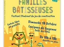 Les familles bâtisseuses - festival du jeu de construction